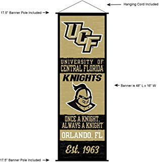 Central Florida Knights Banner and Scroll Sign