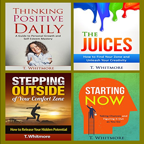 Positive Thinking Book Bundle audiobook cover art