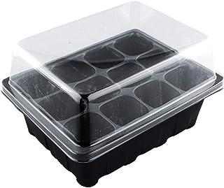 Gardening Supplies 12-Hole Seedling Box Seed Culture Dish Seedling Tray Family Nursery Box 3Pcs