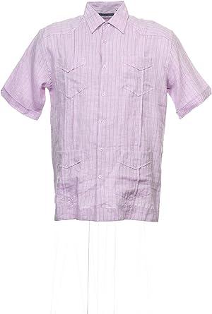 Cubavera Guayabera - Camiseta de manga corta para hombre (100 ...