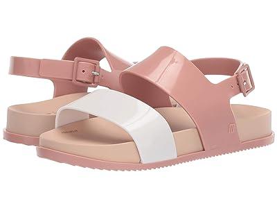 Mini Melissa Mel Cosmic Sandal (Little Kid) (Nude Soft Pink) Girls Shoes