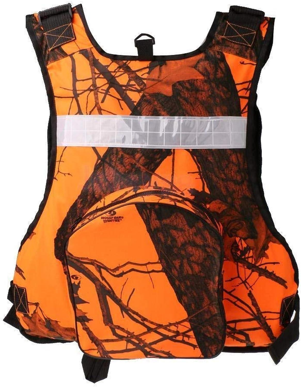 Universal Kayak Canoe Sailing Fishing Life Jacket Buoyancy Aid orange Camo