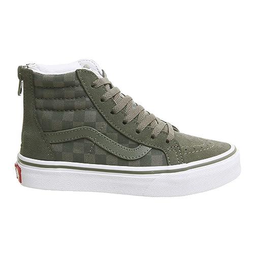 Vans Boys Sk8-Hi Zip Kids Skate Shoes