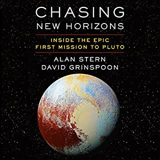 Chasing New Horizons audiobook cover art