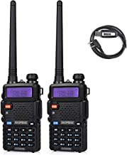 Best Baofeng UV-5RTP Tri-Power 8/4/1W Two-Way Radio Transceiver (2pcs)+ Programming Cable (1pcs) Review