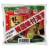 ニコニコのり 韓国味付海苔 6袋