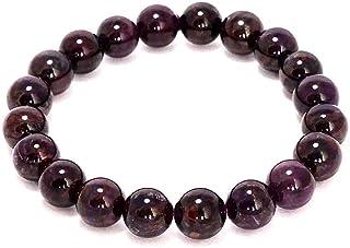 Natural AAA Sugilita estiramiento pulsera | 7-7,5? Longitud de la pulsera de la piedra preciosa Sugilita | Pulsera unisex ...