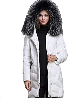 Women's Big Fur Collar Down Coat Thickened Puffer Down Parka