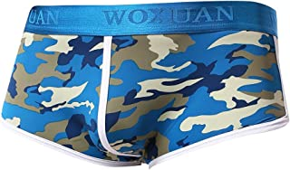 Prettyia Mens Adults Comfy Classic Camouflage Army Polyester Camo Sports Boxer Shorts Athletic Underwear S-XL