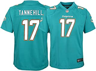 Nike Ryan Tannehill Miami Dolphins NFL Youth Teal Home Game Jersey