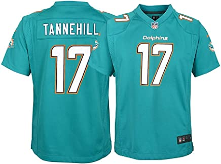 9d313cea175 Nike Ryan Tannehill Miami Dolphins NFL Youth Teal Home Game Jersey