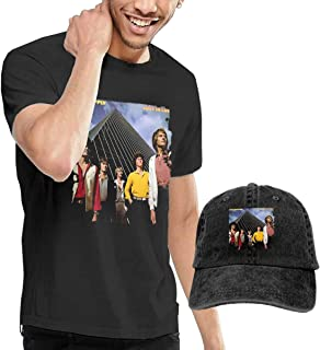 CINDYO Camisetas,Air Supply Lost in Love Tshirts Mens tee T-Shirts Vintage Jeans Baseball Cap Hat