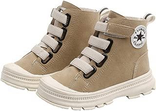 Hopscotch Boys Suede Lace Up Ankle Length Boots in Khaki Color