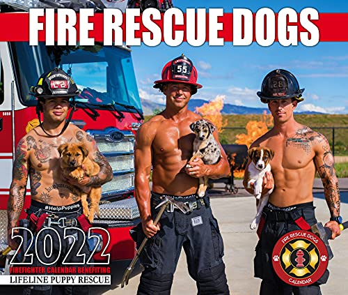 2022 Fire Rescue Dogs Calendar