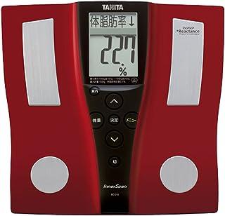 タニタ 体組成計 BC-210-RD(レッド) 乗るピタ機能で簡単測定
