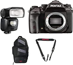 Pentax K-1 Mark II DSLR Camera (Body Only) with Pentax AF540FGZ II Flash