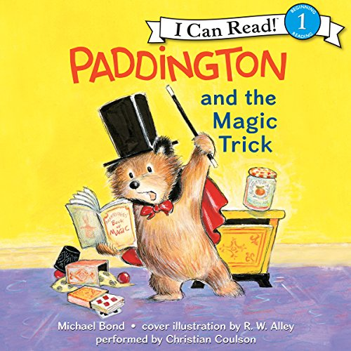 Paddington and the Magic Trick audiobook cover art