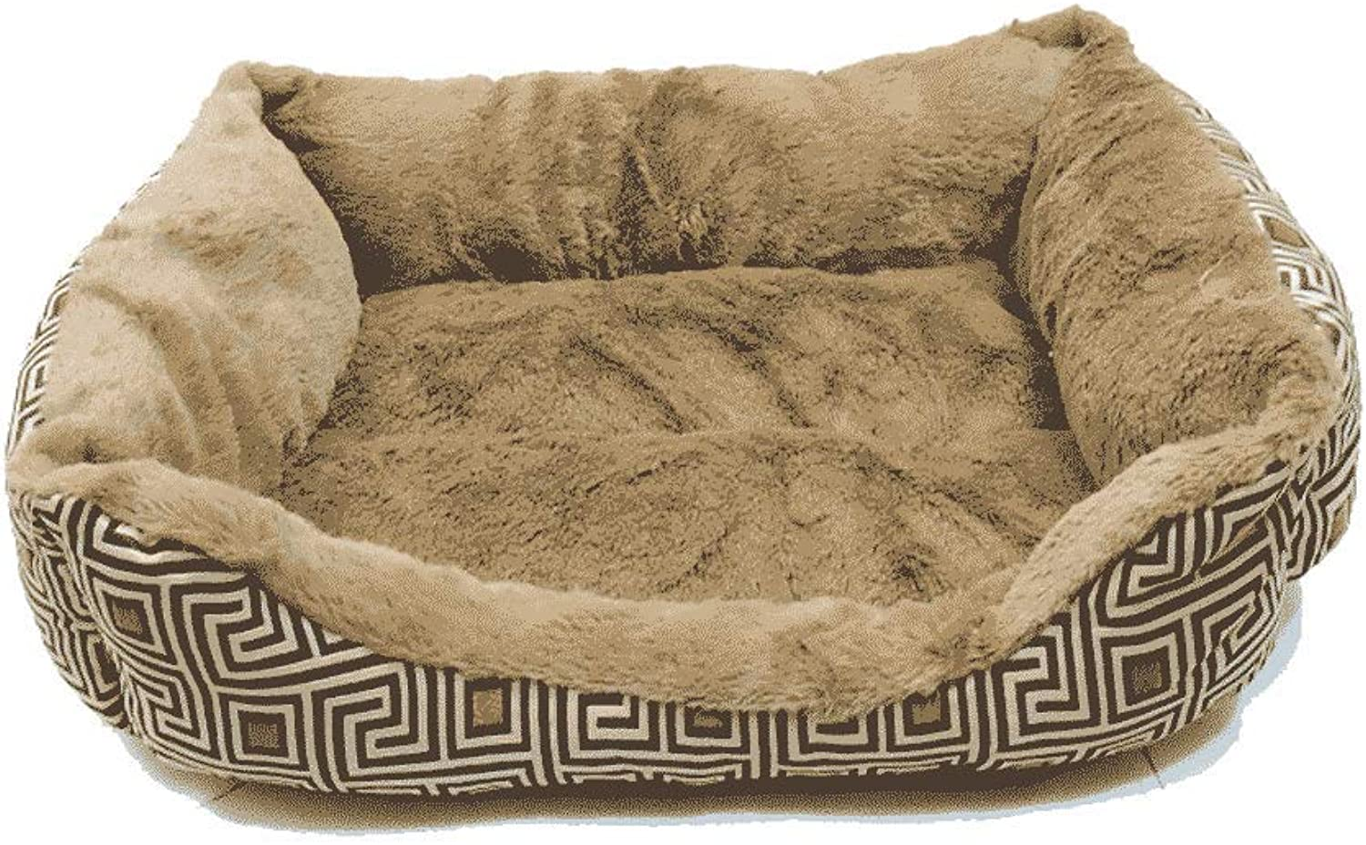 FJH Kennel Dog House Washable Cat Litter Teddy Pet Nest Dog Pad Small Dog Puppies Dog Bed Pet Supplies Four Seasons