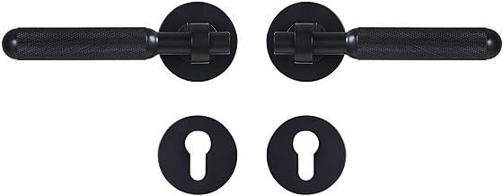 Deurslot Messing deurhendel set licht luxe interieur slaapkamer badkamer dubbele houten deur lock set dummy handgreep knop...