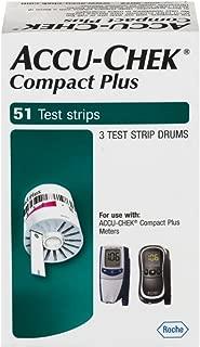 ACCU-CHEK Compact Plus Test Strips 51 Each
