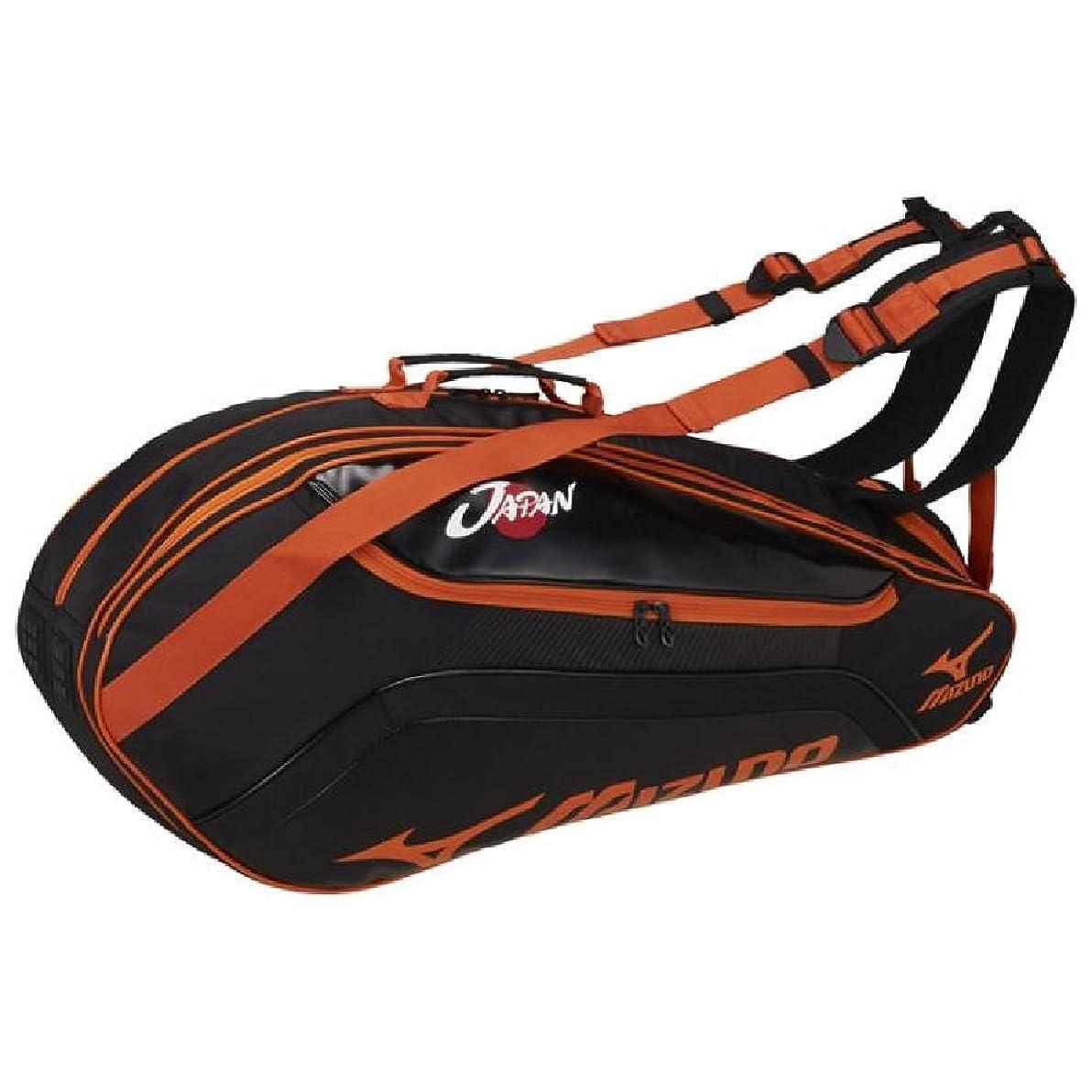 騒冗談で優れたMIZUNO(ミズノ) テニスバッグ ラケットバッグ 6本入れ 63JD7002