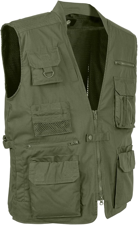 (olivedrab, 2xl)  Plainclothes Olive Drab Concealed Carry Vest, 2XL