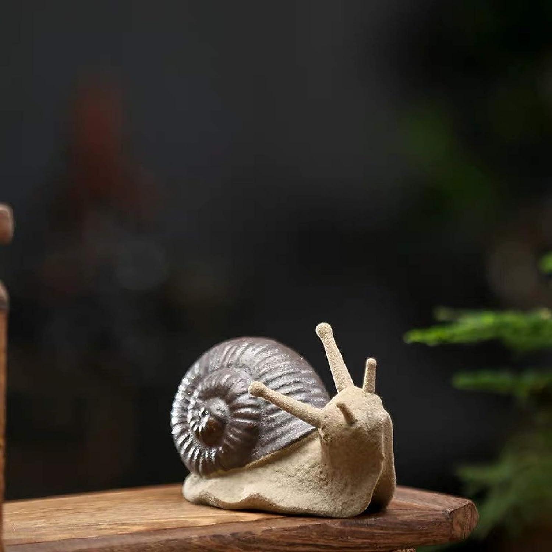 Miniature Figurine Novelty Cute Free Shipping Cheap Bargain Gift Tea Ceramic Han Popular popular Crafts Pet Snail