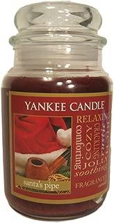 Yankee Candle, Large 22-oz. Jar Candle, Santa's Pipe