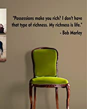 Best bob marley quotes richness is life Reviews