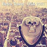 Retro Travel - USA 2021 - Broschuerenkalender