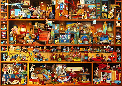 GuDoQi Puzzle 1000 Piezas Adultos Rompecabezas Times Square para Infantiles Adolescentes