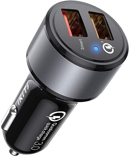 Cell Phone Accessories Motors Kisluck Dual QC3.0 Port 30W/6A USB ...