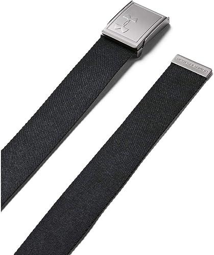 Under Armour Ua Men's Webbing 2.0 Belt cinturón para hombre, accesorio para hombre Hombre