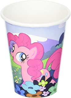 American Greetings, My Little Pony 9oz Paper Cups, 8-Count