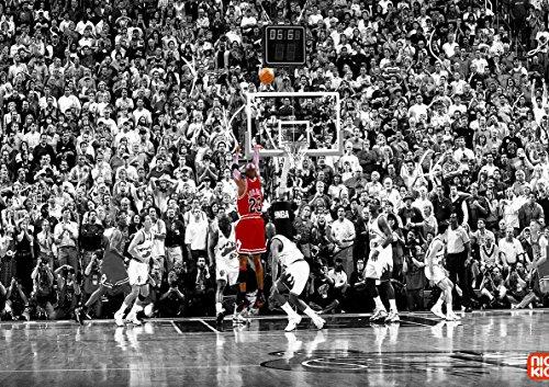 My Little Poster Plakat Michael JORDANISCHES SCHIESSEN NBA Basketball Legend