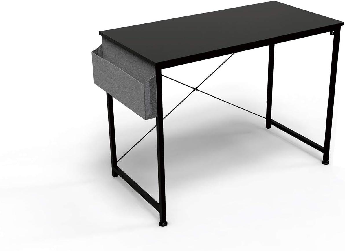 HOMIDEC Computer Desk 80cm Black
