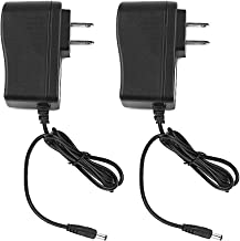 CCTV 12V 1A Switching Power Supply Adapter 2 Pack, 100-240V AC to 12V DC 1Amp (1000mA) Charger Cord for Security Dome/Bullet Camera and Many Other Common Electronic Components Wall Plug