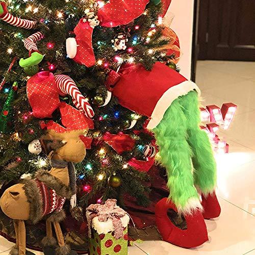 Grinch Elf Body Weihnachtsbaumdekoration, Elfenbeine Für Weihnachtsdekorationen, Elfenbeine Stecken Im Weihnachtsbaum, Weihnachtsschmuck, Elfenfeiertagsdekoration