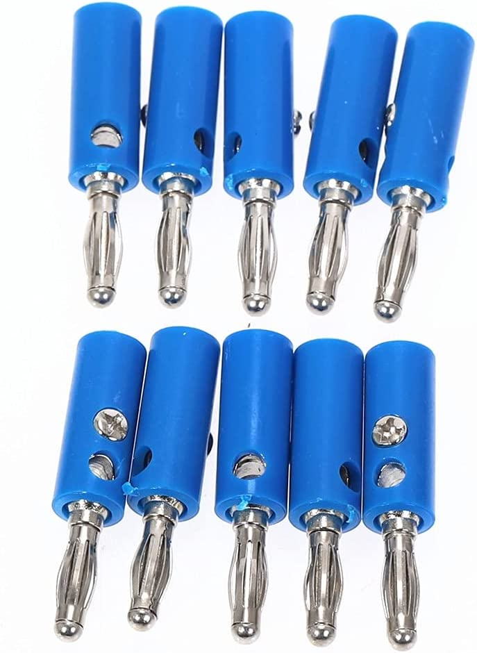 IGOSAIT 10pcs lot 5 color Wire Attention brand Cable Banana s Speaker Plug Louisville-Jefferson County Mall Audio
