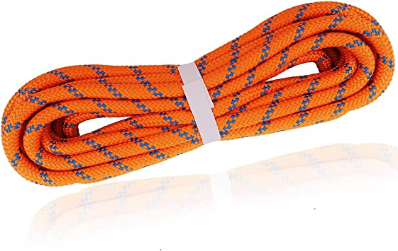 Newdoar - Cuerda de 8 mm para Escalada de Montaña, Escape de Rescate, Supervivencia al Aire Libre, Camping, etc.