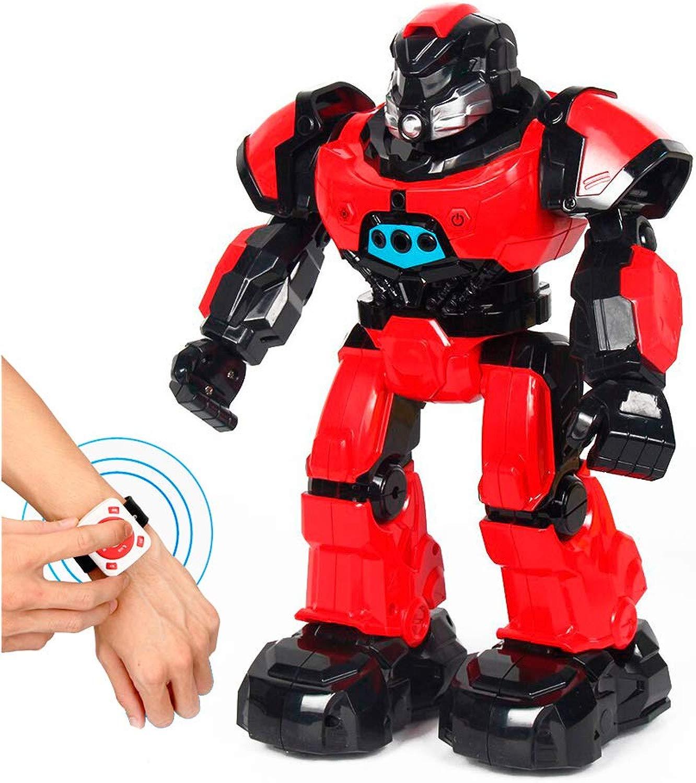 RCTecnic Robot Intelligente Telecouomodato tramite Gesti e orologio, Camminata, Conversa e Danza   Giocattolo Rc Programmabile Robotica per Bambini   Regalo Educativo
