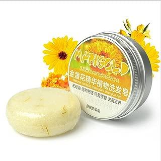 Ofanyia Natural Plant Essence Shampoo Seife, Haarpflege Seife für die Haarreinigung Ringelblume