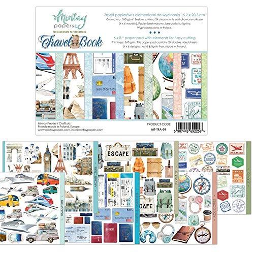 "MTY Paper Pad 6""x8"" - Travel Book"