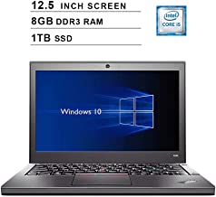 2019 Premium Lenovo Thinkpad X240 12.5 Inch Business Laptop (Intel Dual Core i5-4300U up to 2.9GHz, 8GB DDR3 RAM, 1TB SSD, Intel HD 4400, WiFi, Bluetooth, HDMI, Windows 10 Pro) (Renewed)