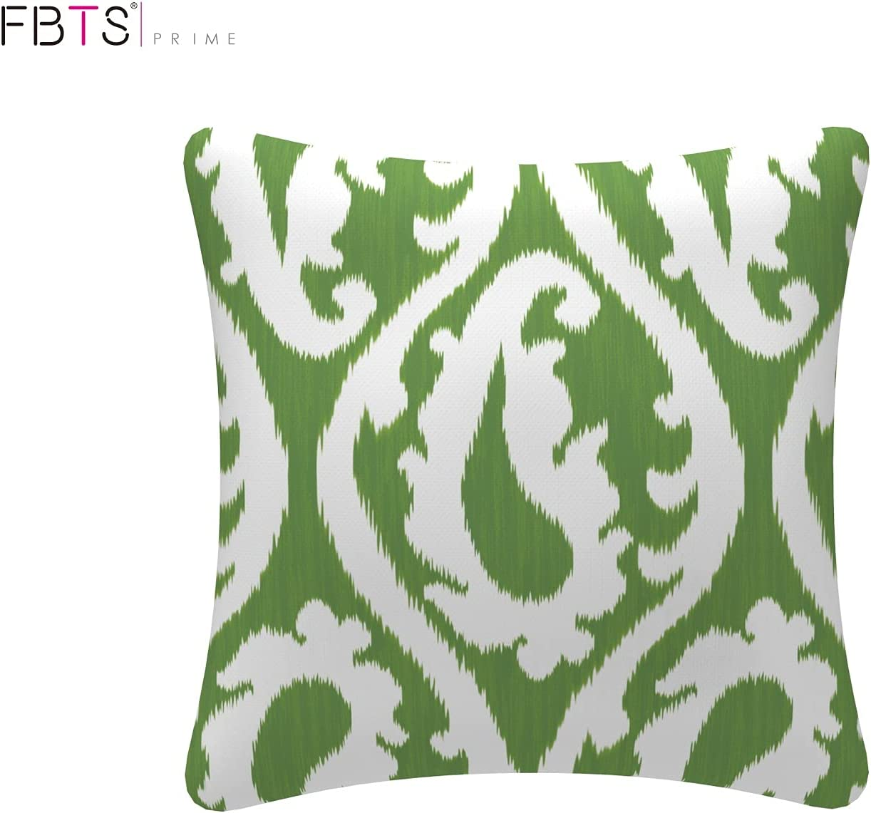 Buy FBTS Prime Outdoor Decorative Pillows with Insert Green ...