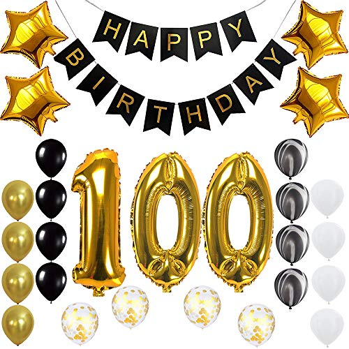 100th birthday party supplies - 4