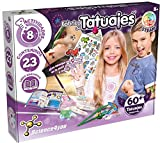 Science4you-5600983615045 Fábrica 60 Tatuajes Temporales con Ingredientes Naturales-Regalo Original para Niñas, Multicolor (80002225)