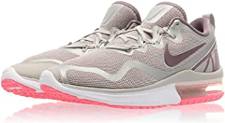 Nike Womens Air Max y Low Top Lace Up Running Sneaker, Grey, Size 6.0
