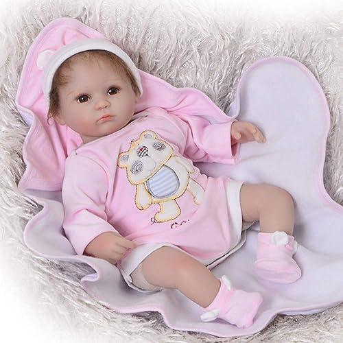 LIDE offene Augen mädchen 17 Zoll 43 cm Neugeborenes Baby Doll Kinder Spielzeug Geburtstag Geschenke Weiße Silikon Vinyl Magnetismus Reborn Babys Puppe