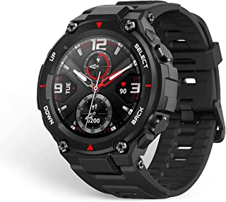 Amazfit Huami 20 Days Battery Life, AMOLED Display, Built-in GPS, 12 Military Certifications, Water Resistance, 14 Sports ...